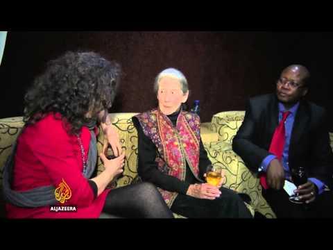 Anti-apartheid Author Nadine Gordimer Dies