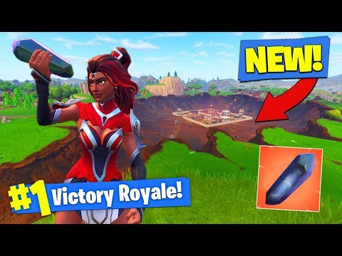 *NEW* SEASON 4 GAMEPLAY + GRAVITY CRYSTALS In Fortnite Battle Royale!