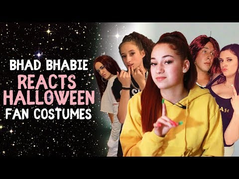 Thumbnail: BHAD BHABIE Reacts to Fan Halloween Costumes | Danielle Bregoli