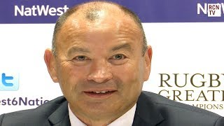 England Eddie Jones Interview Rugby Six Nations 2018