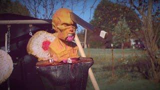 BEST Halloween Throwing Weapons! Ft. Adam Celadin - Zombie Go Boom