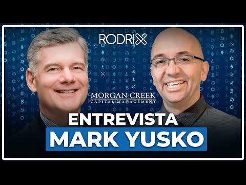 🔵   Mark Yusko, CEO & Founder  Morgan Creek Capital - Interview for Dash Digital Cash Brazil.