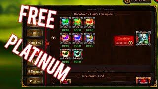 Epic Heroes War Combine Free Platinam Hero screenshot 4