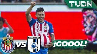 ¡De sombrerito! Golazo de Vega | Chivas 1 - 0 Querétaro | Liga Mx - AP 19 - J18 | TUDN