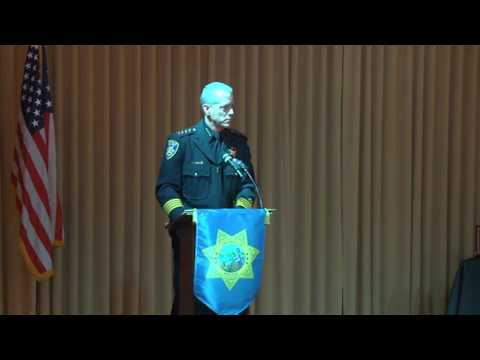 2016 Vacaville Police Department Awards Ceremony