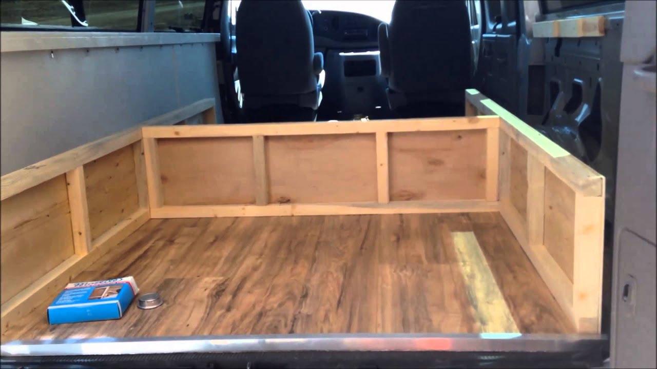 Solar Battery Box Venting And Bed Frame Diy Camper Van