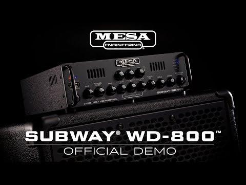 Mesa/Boogie debuts Walkabout-inspired Subway WD-800 bass amp