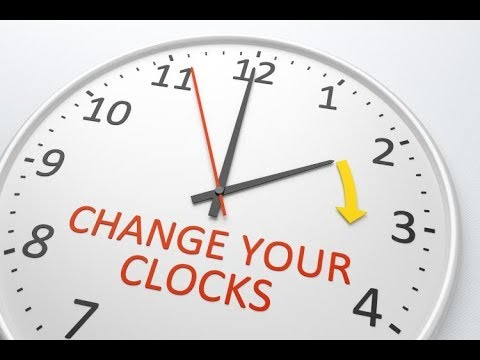 When Do The Clocks ChangeTime Changes In Year For USA New - When time change in usa
