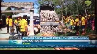Triton Tuners Club Malaysia AGM 2014 TV9