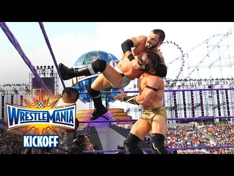 Neville vs. Austin Aries - WWE Cruiserweight Title Match: WrestleMania 33 Kickoff