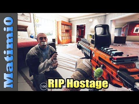 RIP Hostage - Rainbow Six Siege