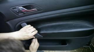 SKODA Superb disassembly door -(разборка двери) part II