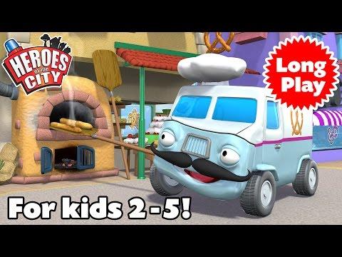 Download Heroes of the City 1-2 - Benny the Baker Bundle - Preschool Animation -  Long Play | Car Cartoons Mp4 baru