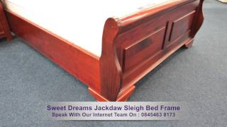 Sweet Dreams Jackdaw Sleigh Bed Frame