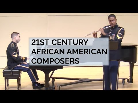 """Pershing's Own"" Chamber Music Recital: 21st Century African American Composers"