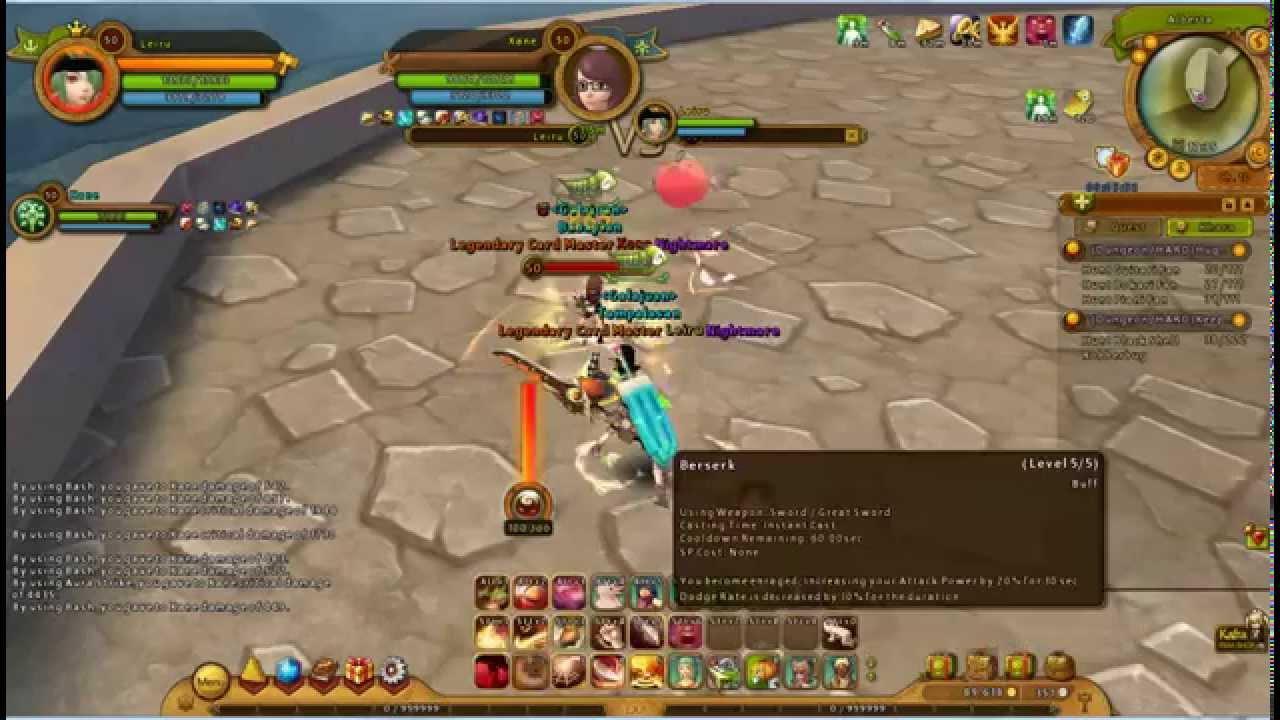 leirus critical warrior unbuffed ragnarok online 2
