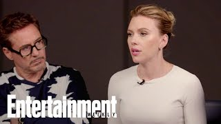 Avengers' Scarlett Johansson On Black Widow's Influence On Female Superheroes | Entertainment Weekly