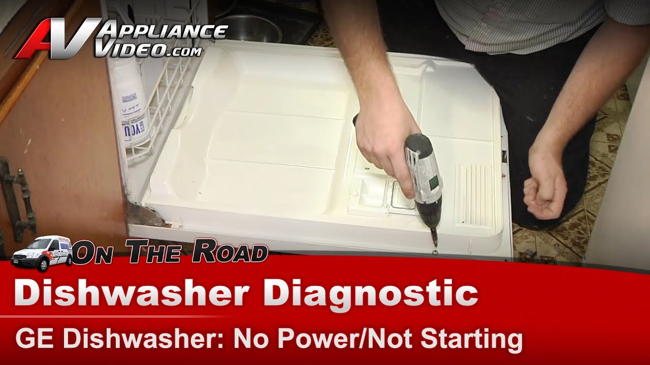 Dishwasher Diagnostic No Power  U0026 Not Starting
