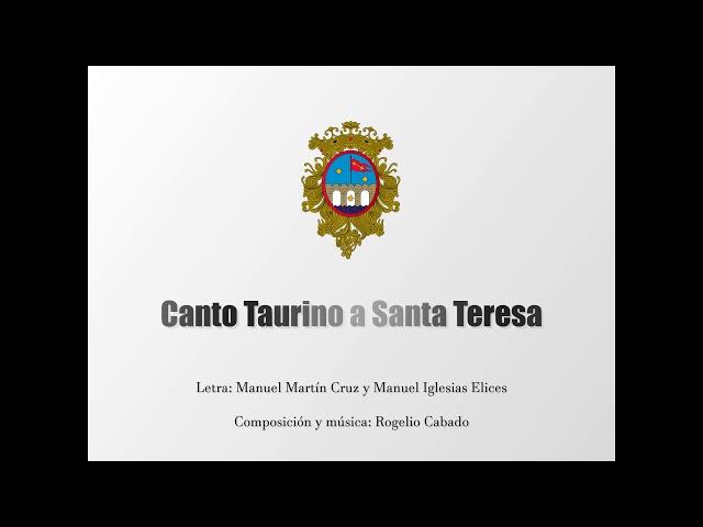Canto Taurino a Santa Teresa