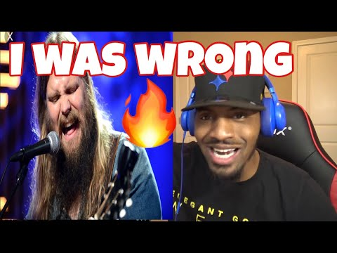 See Chris Just showing off Now!!! Chris Stapleton - I Was Wrong    REACTION