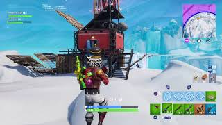 Funny Crazy fortnite zipline hack