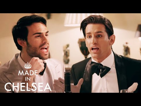 """""""How Dare You"""" - Ollie Locke & Mark Francis KICK OFF During Dinner Party 