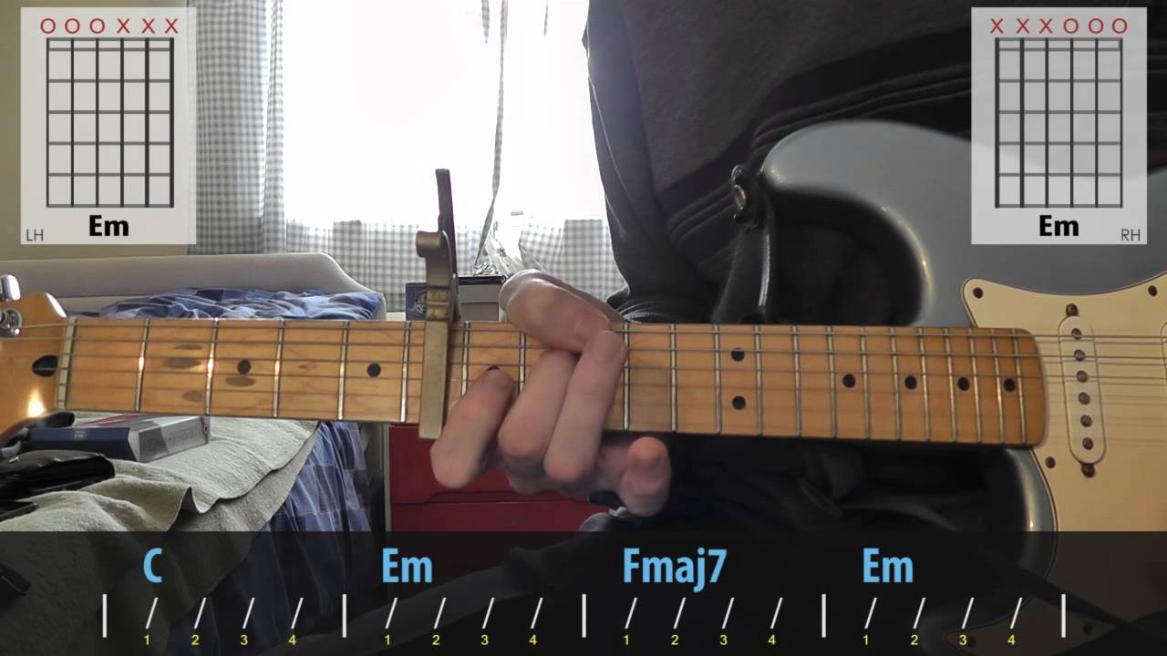 Modest mouse float on guitar lesson youtube hexwebz Image collections