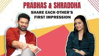 Prabhas And Shraddha Kapoor Praise Each Other | Movie with Allu Arjun | Saaho