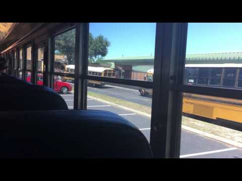 Last Bus Ride From Milwee Middle School