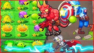 Прохождение только за зомби в Растение против зомби 3 Plants vs zombie 7   китайская версия 7