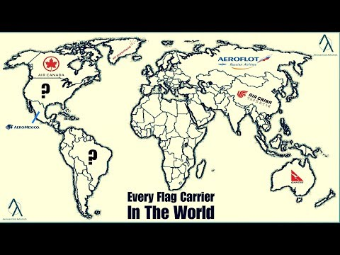 List Of National/Flag Carriers By Country | Every Flag Carrier In The World