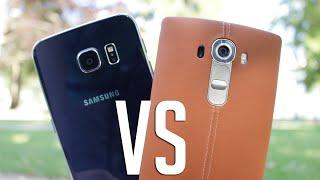 Comparatif Galaxy S6 VS LG G4 : Design, Appareil Photo, Ecran, etc - Lequel choisir?