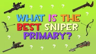 TF2 - What Is The Best Sniper Primary Weapon?