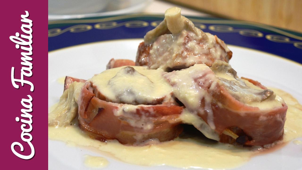 Como Cocinar Solomillo De Cerdo En Salsa | Solomillo De Cerdo Con Salsa De Hongos Javier Romero Cap 42