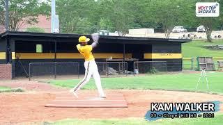 Kameron Walker SS ~ Baseball Recruiting Video ~ Class of 2021