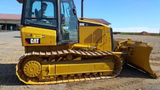 Caterpillar D5K XL Bull Dozer Running and Operating Video!