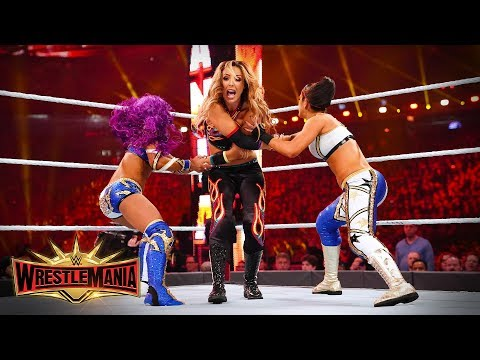 Chaos reigns in WWE Women's Tag Team Title Fatal 4-Way: WrestleMania 35 (WWE Network Exclusive)