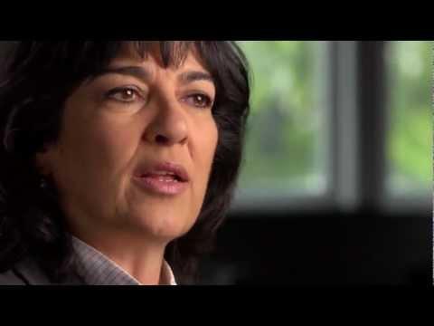Christiane Amanpour: Challenging President Clinton