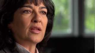 Christiane Amanpour: Challenging President Clinton