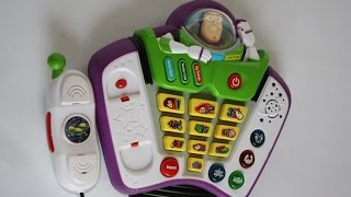 Toy Story 3 - Buzz Lightyear Talk and Teach Phone [HD]