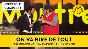 """[Complet] """"On va rire de tout !"""" présenté par M. Madénian et T. VDB - Montreux Comedy 2016"""