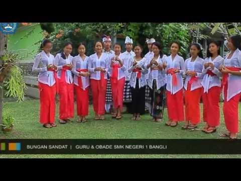 Bungan Sandat (Cover Obade SMK Negeri 1 Bangli).