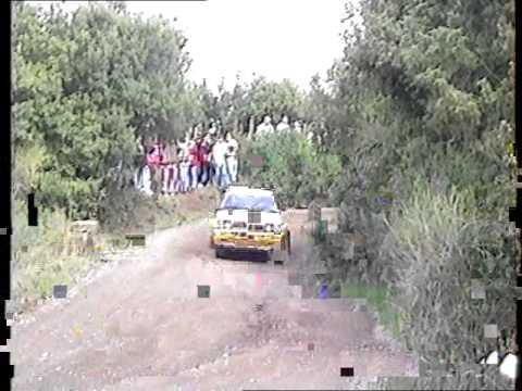 Rally Coppa Liburna 1992 Trofeo Terra..WMV