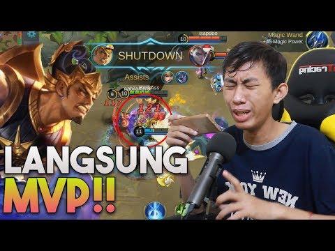 PUKULAN GEMES GATOT KACA BIKIN MVP !! - Mobile Legends Indonesia #2