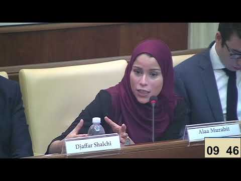 32. Alaa Murabit, UN High Level Commissioner on Health Employment & Economic Growth