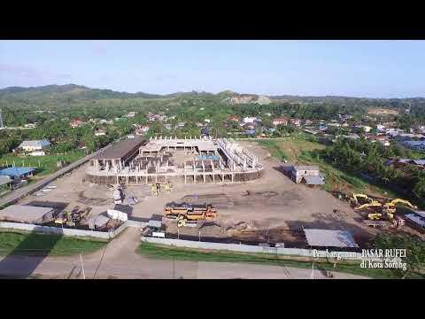 Pembangunan Pasar Modern Kota Sorong 2014 (on progress)