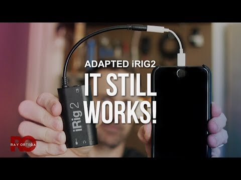 Connect a Phone to a Mixer 2018 - iRIG2 To Lightning via Dongle