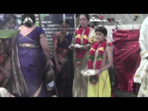 Yash Upanayana at Chinthalavadi on 06.02.17