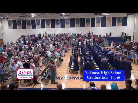 Nekoosa High School Graduation 6-5-16
