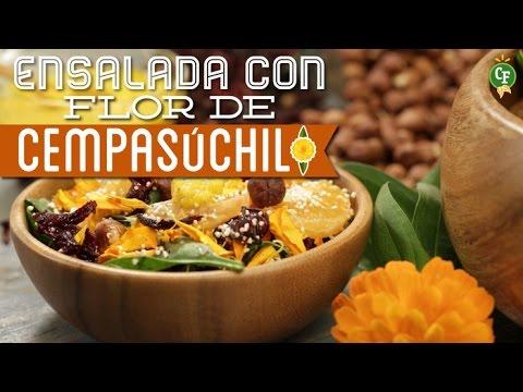 C mo preparar ensalada con flor de cempas chil cocina for Como cocinar acelgas frescas